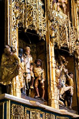 El retablo mayor de la iglesia de San Pablo (Zaragoza)