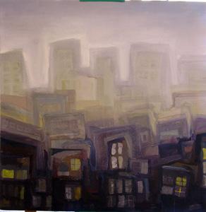 Ciudad y niebla