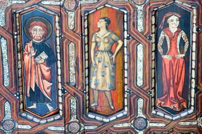 Conocida desconocida -2: La techumbre de la catedral de Teruel